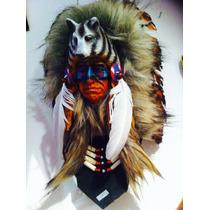 Máscara Indio Nativo Americano