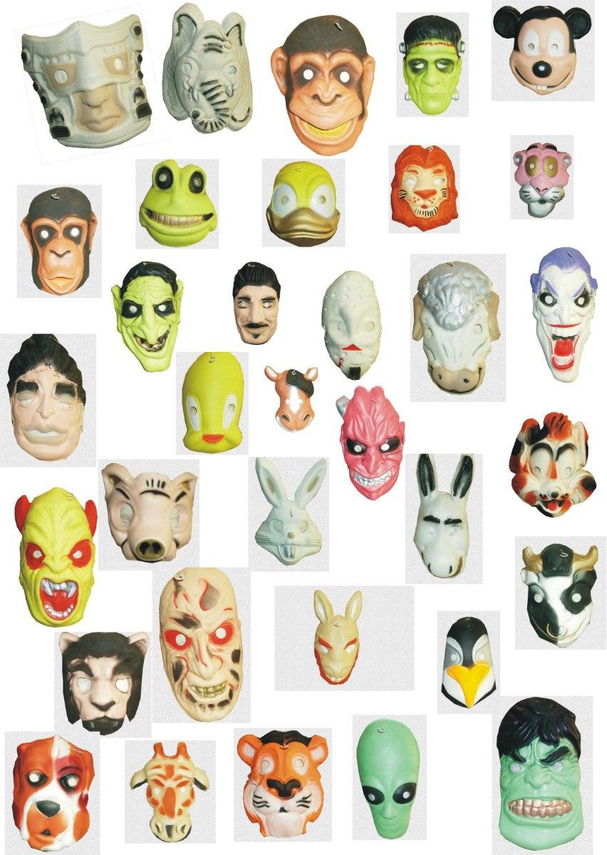 Mascaras Caretas De Goma Eva - $ 65,00 en MercadoLibre