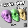 Calaca / Calavera Yeso / Craneo / Skull