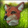 Mascara Latex Zorro Fox Animal Disfraz Importada Original