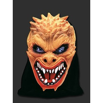 Mascara Latex Demonio Terror Latex Capucha Calidad! Bromas