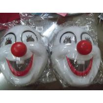 Mascaras/caretas De Payaso De Plastico Duro