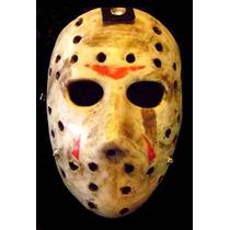 Jason Mask Para Disfraz, Terror, Asesino, Horror, Mascara Fx