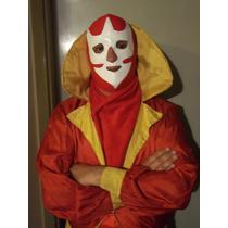 Mascara De Caballero Rojo Titanes En El Ring