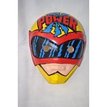 Caretas Plastirama Juguete Retro Superheroe Power Ranger
