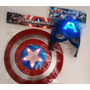 Escudo - Capitán América - Luz Y Sonido - Pila Incluída