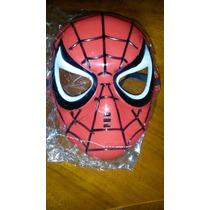 Máscara Del Hombre Araña De Plástico Duro