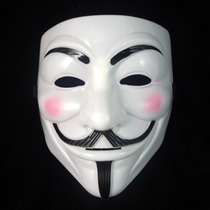 Mascara Anonymous O V De Vendetta De Plastico Rigido