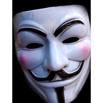 Disfrazate De Anonymous Venganza, Mask Guyfawkes, Vendetta