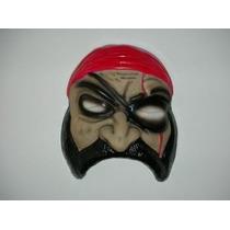 Mascara De Pirata - Mascara Plástica Halloween
