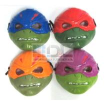 Máscara Tortugas Ninja Luz Led X2 Intermitente Mirá El Video