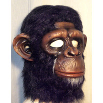 Chimpance Máscara De Látex Simio Gorila Halloween Mordortoys