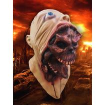 Mascara Latex Demonio Interior Terror Disfraz Importada Usa
