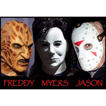 Mascara Michael Myers, En Latex, Jason, Freddy Kruegger, Fx