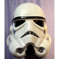 Mascara Casco Elatex Trooper, Star Wars Soldado Imperial !