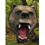Mascara Latex Oso Bear Importada Original Disfraz Halloween