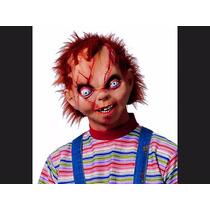 Mascara Importada Chucky Latex Realista Fiesta Disfraz