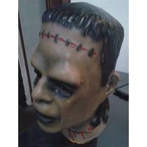 Máscaras De Látex Frankenstein Terror Chasco Joda Coleccion