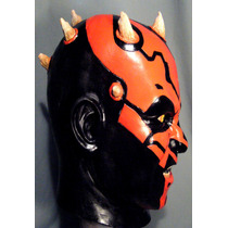 Darth Maul Mascara De Latex, Jedi Star Wars, Sith, Disfraz !
