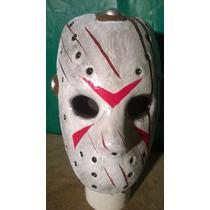 Jason Voogees Mascara De Latex Disfraz Haloween
