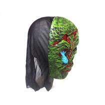Mascara Careta De Latex De Terror Ideal Fiesta De Disfraces