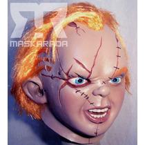 Máscaras De Látex Chucky, Exorcista,diablo Disfraz Halloween