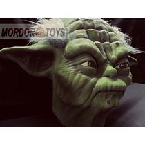 Master Yoda Máscara De Látex Star Wars Halloween Mordortoys