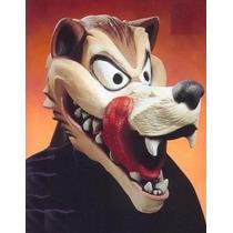 Mascara Latex Lobo Loco Hungry Wolf Completa Disfraz Cosplay