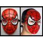 Mascara Plástica De Spiderman, Hombre Araña! Disfraz, Careta