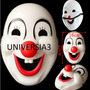 Mascara Payaso Careta Rigida Pvc Cotillon Carioca Cumple