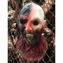 Mascara Latex Zombie Quemado Halloween Terror Disfraz
