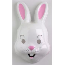 Careta Plástica De Conejo