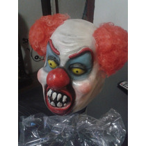 Mascara Latex Calidad Payaso Diabolico Terror Joda Disfraz