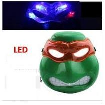 Máscara Tortuga Ninja Luz Intermitente -video Demostrativo-