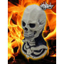 Mascara Latex Calavera Ghost Rider Esqueleto Halloween