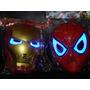 Mascara Con Luz Spiderman - Capitan America - Hulk