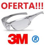 Anteojo 3m Virtua Ap Af (transparente, Antiempaño,economico)