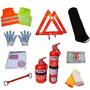 Kit De Seguridad Automotor Reglamentario 10 En 1