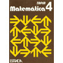 Matemática Tapia 4, Editorial Estrada, Nuevo Sin Uso!!