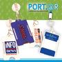 10 Porta Sube®, Monedero®, Porta Credencial Y Yoyo Retractil