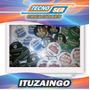 Pins 75mm X 10 Boton Personalizados Publicitarios Souvenir