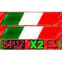 Insignia Bandera Italia,argentina X2 Oferta Resinada
