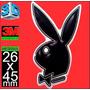 Insignia Logo Playboy Encapsulada Domes 1 Calidad