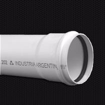 Caño/tubo De Pvc Reforzado De 315mm X 6m Con Junta Elástica