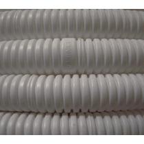 Caño Pvc Corrugado 3/4 Blanco Rollo X 25mts Iram