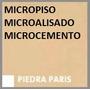 Piso Decoratico Micropiso Microcemento Cementic Piedra Paris