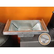 Recibidor Caja Galvanizado Canaletas Desagues