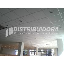 Placa Cielorraso Desmontable Eps Simil Placa De Yeso 61x61
