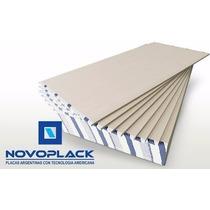 Placas De Yeso 12.5mm Novoplack, Knauf, Durlock