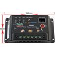 Regulador De Voltaje Panel Solar 30a 12/24volts C/display
